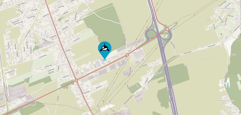 Der Salon Orca befindet sich im Gewerbepark Nord 9, 8431 Gralla